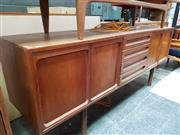 Sale 8451 - Lot 1035 - Meredew teak sideboard