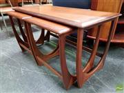 Sale 8493 - Lot 1017 - G-Plan Nest of Teak Tables