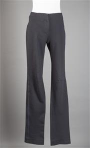 Sale 8499A - Lot 89 - A pair of Missoni skinny black stretch straight leg trousers. Size 42.