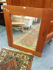 Sale 8648 - Lot 1086 - Timber Framed Mirror