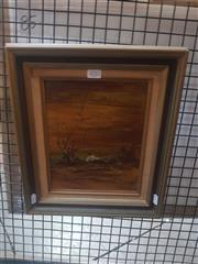 Sale 8833 - Lot 2032 - Norman Robbins Solitude oil on board 37 x 32.5cm, signed