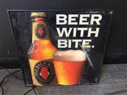 Sale 9034 - Lot 1070 - Redback Bitter Light Up Advert (48 x 48cm)