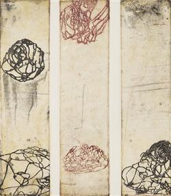 Sale 9096A - Lot 5090 - Belinda Fox (1975 - ) - Travel Story, 2000 27.5 x 24 cm (frame: 67 x 60 x 3 cm)