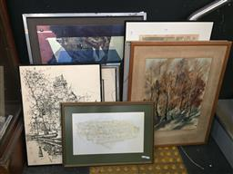 Sale 9139 - Lot 2091 - Collection of Various Artworks etc