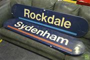 Sale 8284 - Lot 1073 - Pair of Modern railway Signs