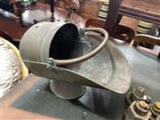 Sale 8896 - Lot 1090 - Copper Coal Scuttle