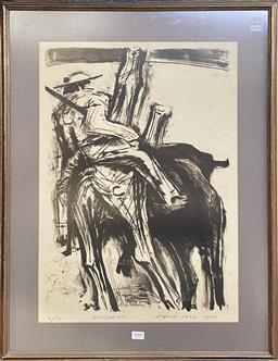 Sale 9111 - Lot 2009 - David Rose Picador, 1964, lithograph, ed 6/14, frame: 73 x 57 cm, signed and dated lower right