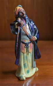 Sale 8313A - Lot 96 - A Royal Doulton figure, Blue Beard, HN 2105, height 28cm
