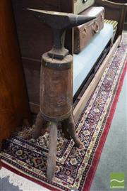 Sale 8542 - Lot 1067 - 19th Century Miniature Anvil on Stand