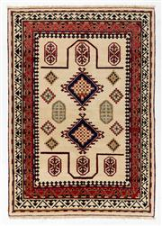 Sale 8770C - Lot 87 - An Afghan Kazak Geometric Design 100% Wool And Natural Dyes, 245 x 173cm