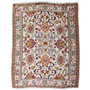 Sale 8880C - Lot 47 - Turkish Vintage Rose Kelim Carpet, 295x225cm, Handspun Wool