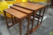 Sale 8326 - Lot 1045 - G-Plan Teak Nest of Tables