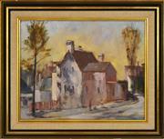 Sale 8323A - Lot 61 - Neville McIntosh (XX) - Old German Embassy, Glebe 39.5 x 49cm