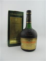 Sale 8353 - Lot 618 - 1x Courvoisier VSOP Cognac - old bottling in box