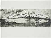 Sale 8492A - Lot 5092 - Mandy Martin (1952 - ) - Untitled, 1992 14.5 x 40cm (frame size: 50.4 x 60.5cm)