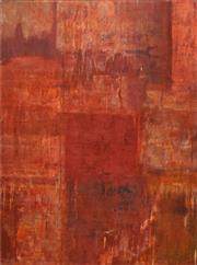 Sale 8704A - Lot 5040 - Gail English (1939 - ) - Red Rain, 2004 102 x 76cm