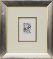 Sale 8771 - Lot 2019 - Pierre Auguste Renoir (1841 - 1919) - La Chapeau Epingle 11.5 x 8cm
