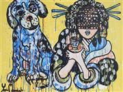 Sale 8880A - Lot 5059 - Yosi Messiah (1964 - ) - My Baby Dog 75 x 100 cm