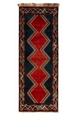 Sale 9141C - Lot 30 - PERSIAN Fine Nomadic Loribaft, 110X300CM, Handspun Wool