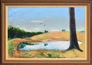Sale 8344 - Lot 535 - Sali Herman (1898 - 1993) - Capertee - Genolean View, 1991 60 x 90cm