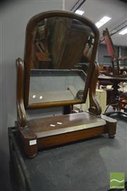 Sale 8347 - Lot 1073 - Mahogany Toilet Mirror