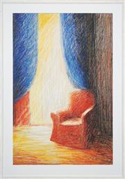 Sale 8427 - Lot 589 - Helen Eager (1952 - ) - Interior Scene 101.5 x 66.5cm