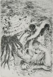 Sale 8492A - Lot 5005 - Pierre Auguste Renoir (1841 - 1919) - La Chapeau Epingle 11.5 x 8cm
