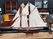 Sale 8688 - Lot 1037 - Large Model Frigate