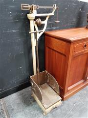 Sale 8834 - Lot 1003 - Vintage Set of Wedderburn Luggage Scales
