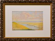Sale 9080J - Lot 72 - Ethel Carrick Fox - Coastal View 26x37cm