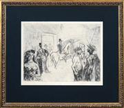 Sale 8433 - Lot 2002 - Artist Unknown (XX) (2 works) - Untitled (Circus Scenes) 31.5 x 39cm, each