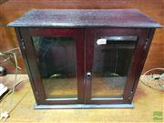 Sale 8444 - Lot 1066 - Mahogany Cased Chemists Brass Balance Scales