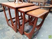 Sale 8493 - Lot 1055 - G-Plan Teak Nest of Tables