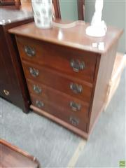 Sale 8601 - Lot 1372 - Chest of Four Drawers