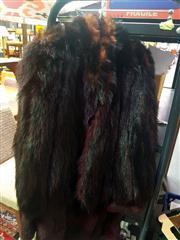 Sale 8663 - Lot 2149 - Lapin Coat & Fox Cape
