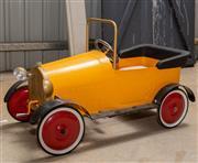 Sale 8677A - Lot 66 - A childs pedal car