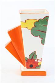 Sale 8810 - Lot 31 - Wedgwood Clarice Cliff Bizzare Vase