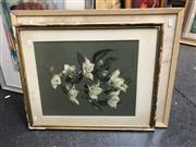 Sale 8841 - Lot 2057 - Floral Still Life watercolours by Peg Campbell and C. Gertrude Williams