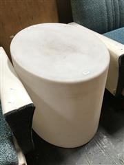 Sale 8859 - Lot 1094 - Perspex Lamp Stool