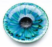 Sale 9090 - Lot 70 - A Blue Ground Glazed Bowl (Dia 31cm)