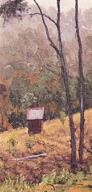 Sale 8597 - Lot 501 - Warwick Fuller (1948 - ) - Wilsons Promontory, Kanimbla Valley 44.5 x 21.5cm