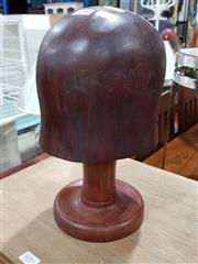 Sale 8777 - Lot 1080 - Wooden Hat Block