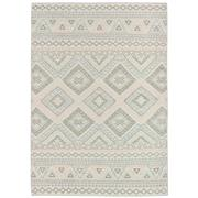 Sale 9082C - Lot 16 - Indian Knotted Aztec Rug, 160x230cm, Handspun Wool