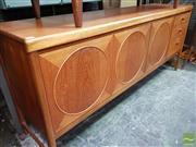 Sale 8493 - Lot 1059 - Nathan Circles Teak Sideboard