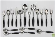 Sale 8626 - Lot 92 - Dansk Designs Germany Cutlery (Including Salad Servers, Ladle, Spoons And Fork-Wear To Some Of The Handles)