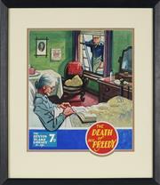 Sale 8892 - Lot 584 - Eric Parker (1898 - 1974) - Illustration for Sexton Blake 33.5 x 35 cm