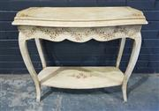 Sale 8979 - Lot 1054 - French Style Hall Table (h:76 x w:90 x d:40cm)
