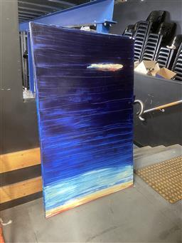 Sale 9101 - Lot 2093 - A Contemporary Abstract Painting by Unknown Artist