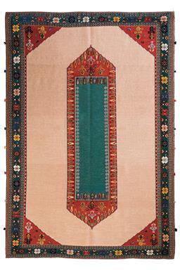 Sale 9141C - Lot 34 - PERSIAN NOMADIC SIRJAN MIXED-WEAVE, 170X250CM