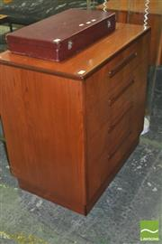 Sale 8310 - Lot 1037 - G-Plan Teak Chest of 4 Drawers